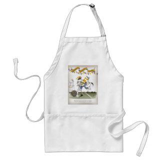 vintage brazil left wing footballer standard apron