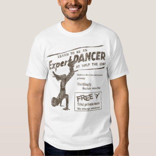 Vintage Break Dancer Tshirts