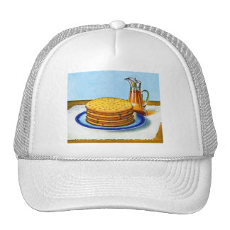 Vintage Breakfast Retro Waffles and Syrup Trucker Hat
