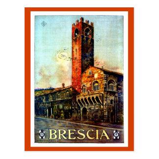 Vintage Brescia Italian Travel  1910s 1920s Postcard