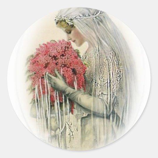 Vintage  Bridal Stickers