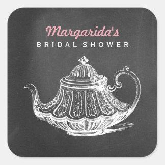 Vintage Bridal Tea Party Chalkboard Favor Tags