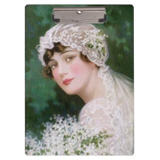Vintage Bride Clipboard