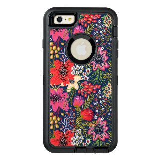 Vintage Bright Floral Pattern iPhone 6 Plus Case