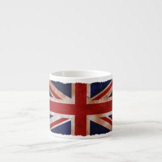 Vintage British Flag Espresso Mug