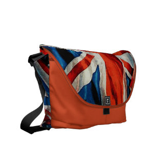 Vintage British Flag Union Jack Messenger Bag