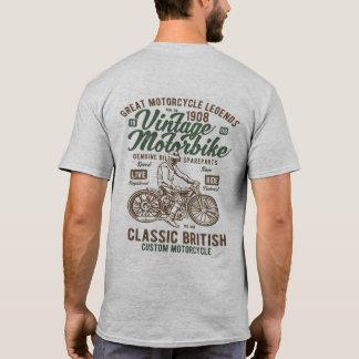 Vintage British Motorbike Cafe Racer T-Shirt