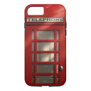 Vintage British Red Telephone Box Case-Mate iPhone Case