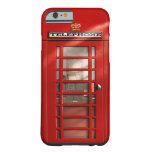 Vintage British Red Telephone Box Custom Cases Barely There iPhone 6 Case