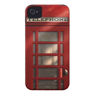 Vintage British Red Telephone Box iPhone 4 Case