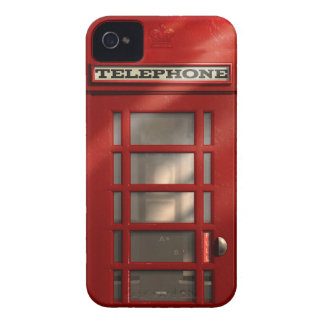 Vintage British Red Telephone Box iPhone 4 Cases
