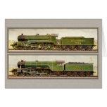 Vintage British Steam trains Cards