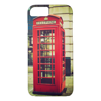 Vintage British Telephone Booth iPhone 7 Case