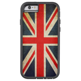 Vintage British Union Jack Flag iPhone 6 Case