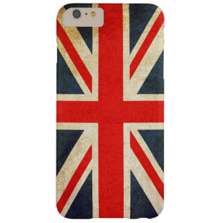 Vintage British Union Jack Flag iPhone 6 Plus Case Barely There iPhone 6 Plus Case