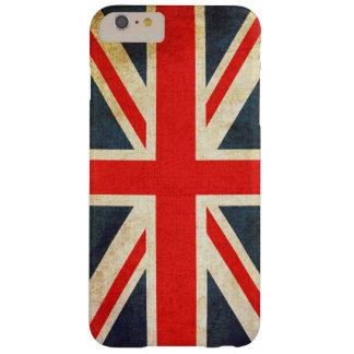 Vintage British Union Jack Flag iPhone 6 Plus Case Barely There iPhone 6 Plus Case