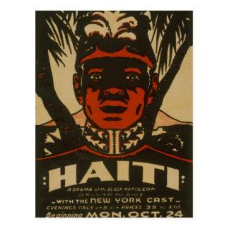 Vintage Broadway Poster Postcard