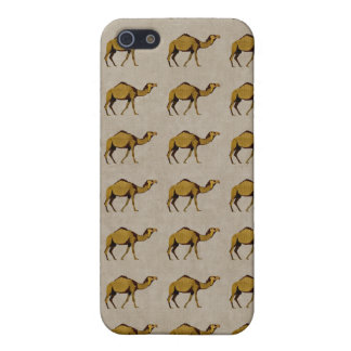 Vintage Bronze Camel Pern i iPhone 5/5S Covers