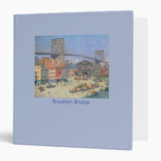 Vintage Brooklyn Bridge 3-Ring Binder