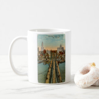 Vintage Brooklyn Bridge NYC Mug