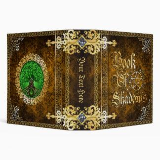 Vintage Brown Medieval Witchcraft Book Of Shadows Binder