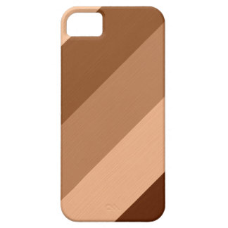 Vintage brown misty-rose retro stripes iPhone 5 covers