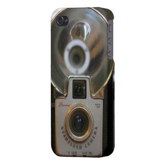 Vintage Brownie Starflash Camera iPhone 4 Case