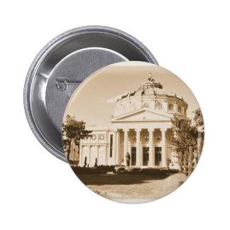 Vintage Bucharest 2 Inch Round Button