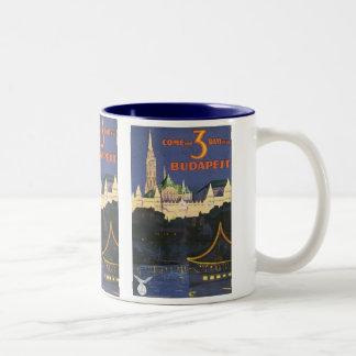 Vintage Budapest Two-Tone Coffee Mug