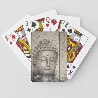 Vintage Buddha Buddhism Yoga Playing Cards
