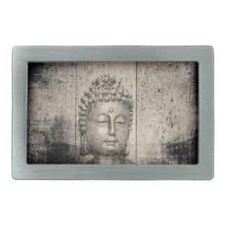 Vintage Buddha Buddhism Yoga Rectangular Belt Buckles