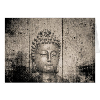 Vintage Buddha Style Card