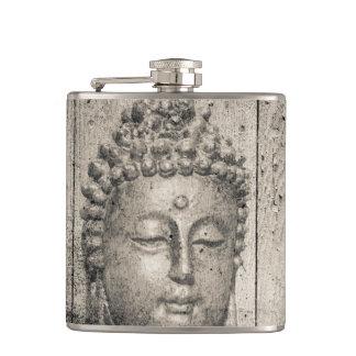 Vintage Buddha Style Hip Flask