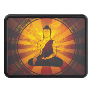 Vintage Buddha Trailer Hitch Cover