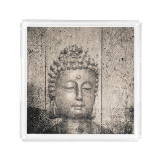 Vintage Buddha Yoga Acrylic Tray