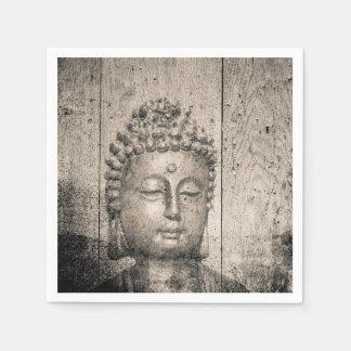 Vintage Buddha Yoga Disposable Napkin