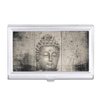 Vintage Buddha Yoga Faith Business Card Holder