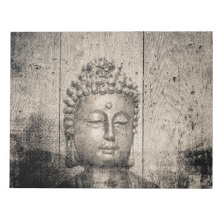 Vintage Buddha Yoga Faith Notepad