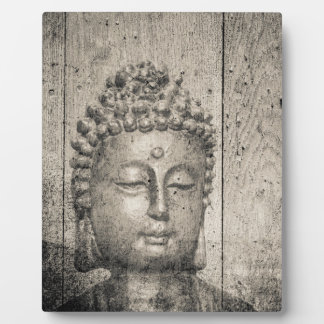 Vintage Buddha Yoga Faith Plaque