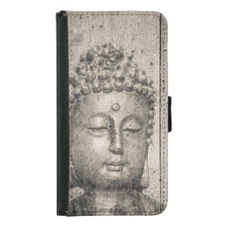 Vintage Buddha Yoga Faith Samsung Galaxy S5 Wallet Case