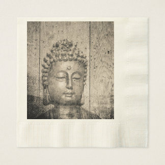 Vintage Buddha Yoga Paper Napkins