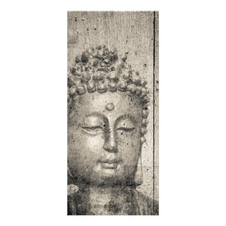 Vintage Buddha Yoga Rack Card Template