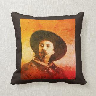 Vintage Buffalo Bill Throw Cushion