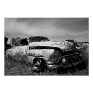 Vintage Buick Car Postage Poster
