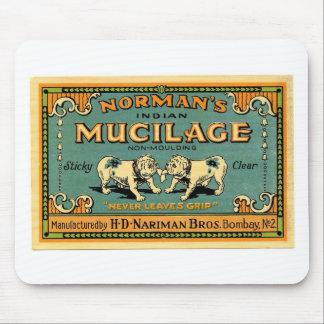Vintage Bulldog Tape Advertisement Mouse Pad