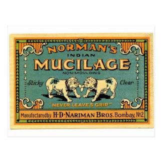 Vintage Bulldog Tape Advertisement Postcard