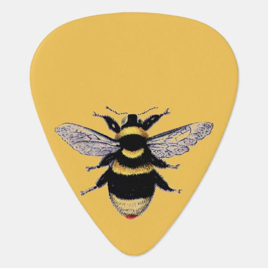 Vintage Bumble Bee Guitar Pick