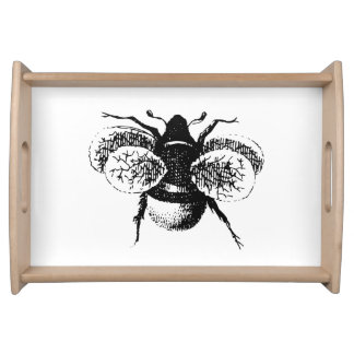 Vintage Bumble Bee Serving Tray