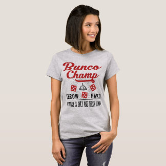 Vintage Bunco Dice Champ T-Shirt