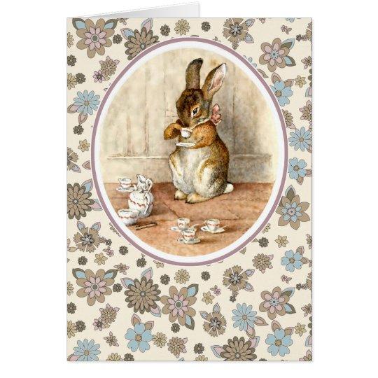 Vintage Bunny. Easter Cards